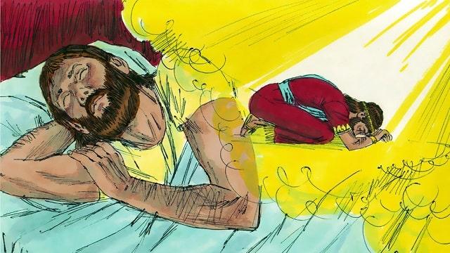 Salomon demande à Dieu la sagesse