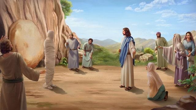 la résurrection de Lazare glorifie Dieu