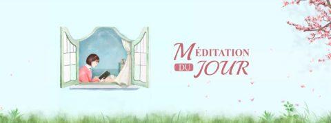 Méditation du jour