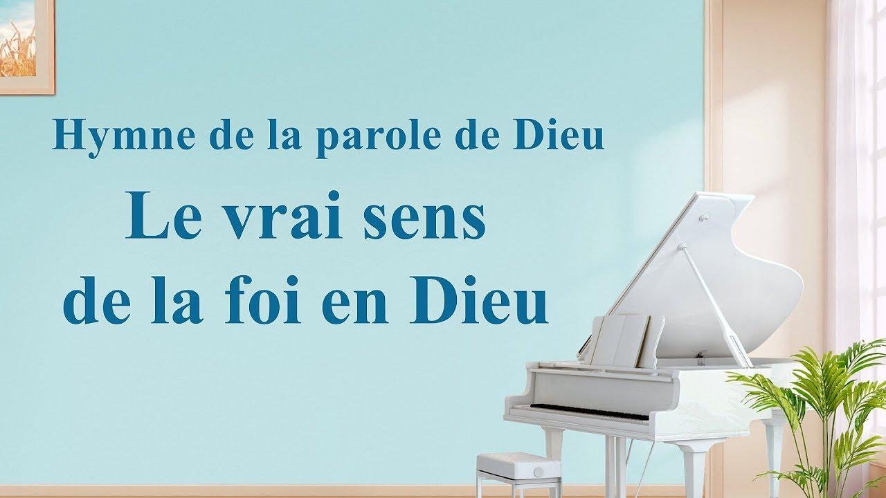 « Le vrai sens de la foi en Dieu » Le meilleur de la musique chrétienne
