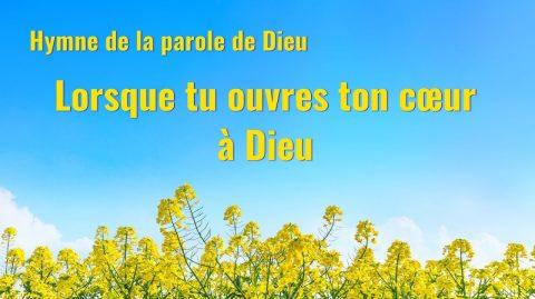 Musique chrétienne « Lorsque tu ouvres ton cœur à Dieu »