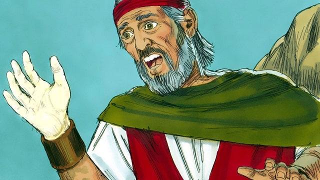 Dieu accorde à Moïse le pouvoir de faire des miracles