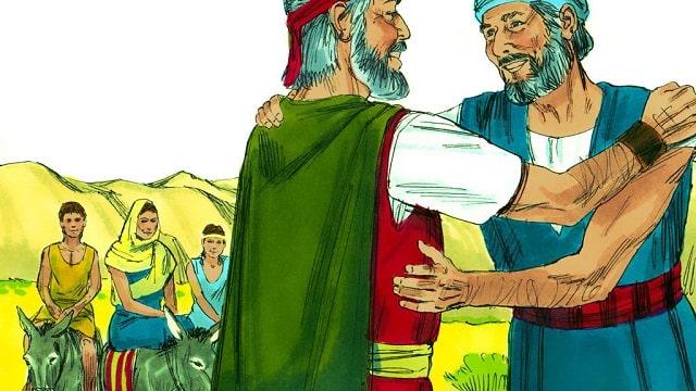 Moïse retourne en Égypte