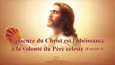 « L'essence du Christ est l'obéissance à la volonté du Père céleste » (Extrait 1)