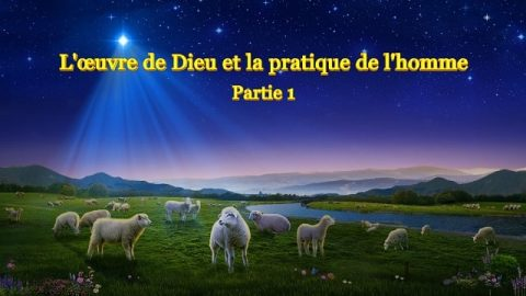 Parole de Dieu « L'œuvre de Dieu et la pratique de l'homme » Partie 1
