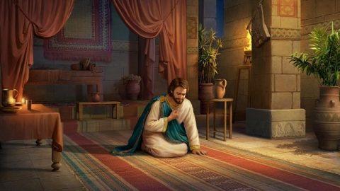 La repentance du roi David