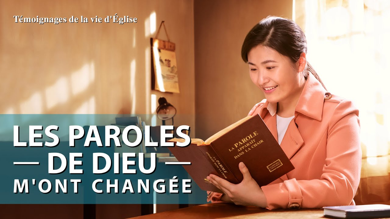 Témoignage chrétien 2020 « Les paroles de Dieu m'ont changée »