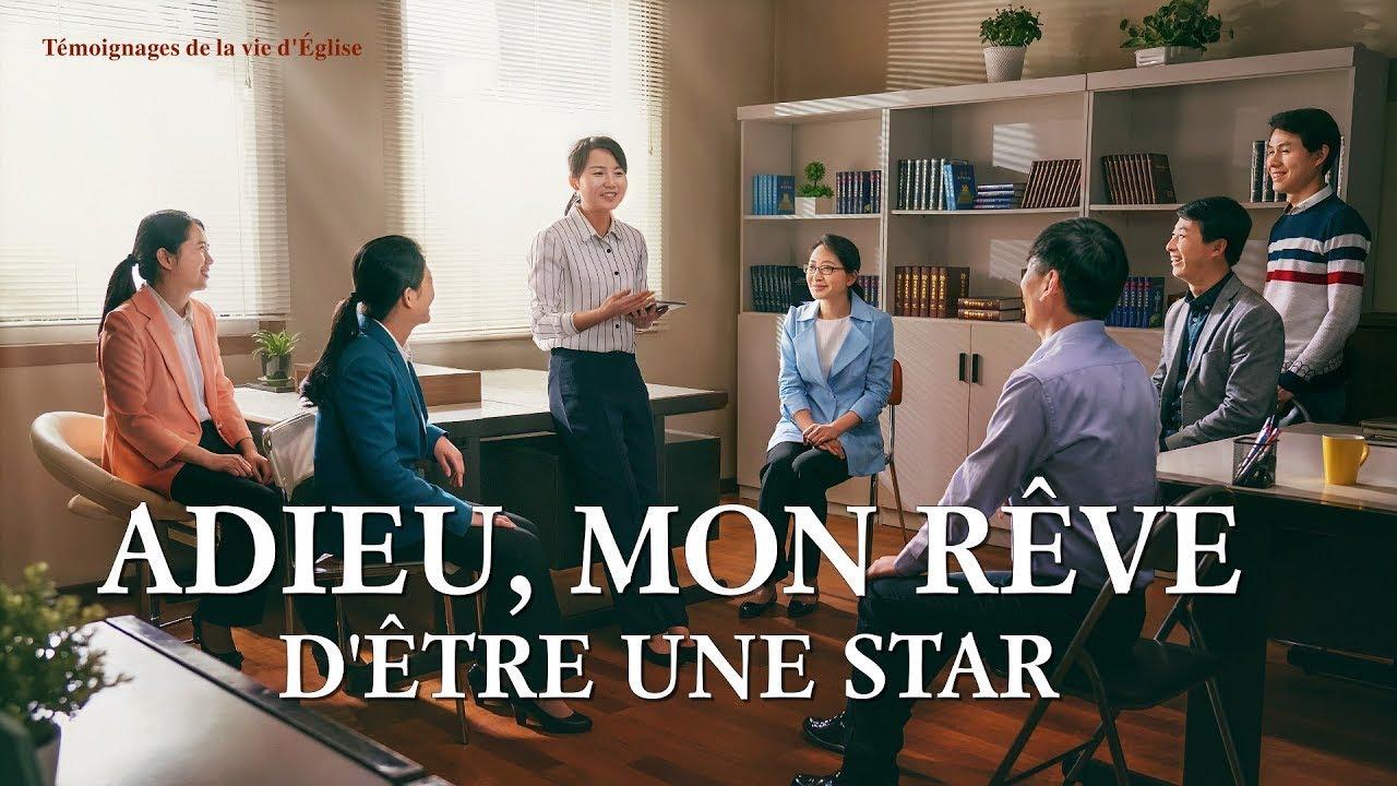 Témoignage chrétien 2020 « Adieu, mon rêve d'être une star »