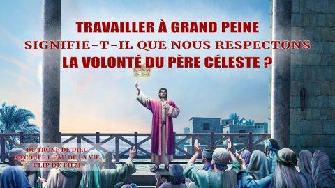 « Du trône de Dieu s'écoule l'eau de la vie » (7) - Travailler à grand peine signifie-t-il que nous respectons la volonté du Père céleste ?